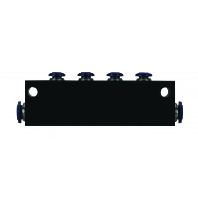 6 PORT VACUUM BLOCK