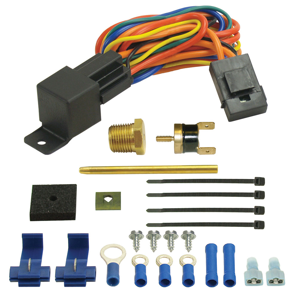 Derale Performance Cooling Products  180 F Fan Switch Thrmostat Relay Kit 1//8/""