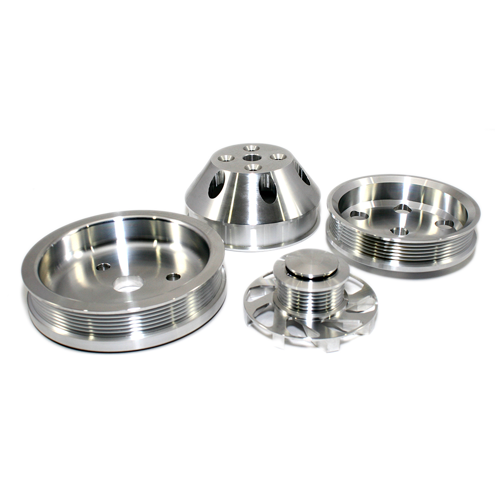 Chevy Small Block Serpentine Pulley Kit Short Water Pump ...