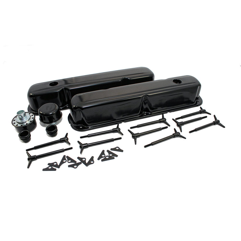 Small Block Mopar Dress Up Kit w/ Smooth Valve Cover :: Assault Racing Products
