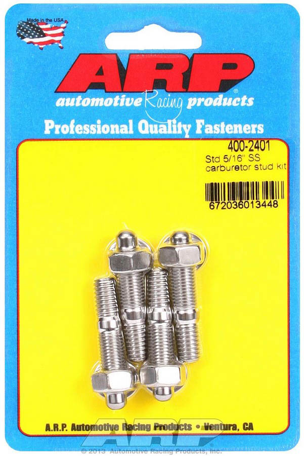 ARP Bolts 400-0310 Holley Float Bowl kit  With duel metering block