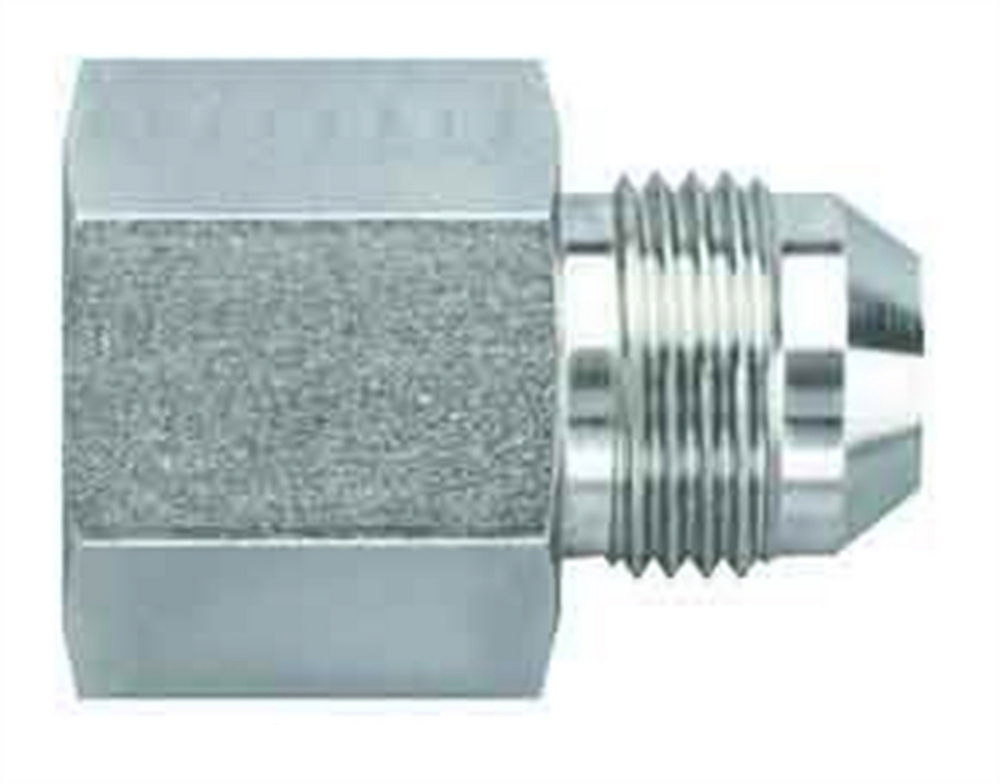03AN Flare to 1//8 NPT Straight Male Connector Aeroquip FCM2511 Steel