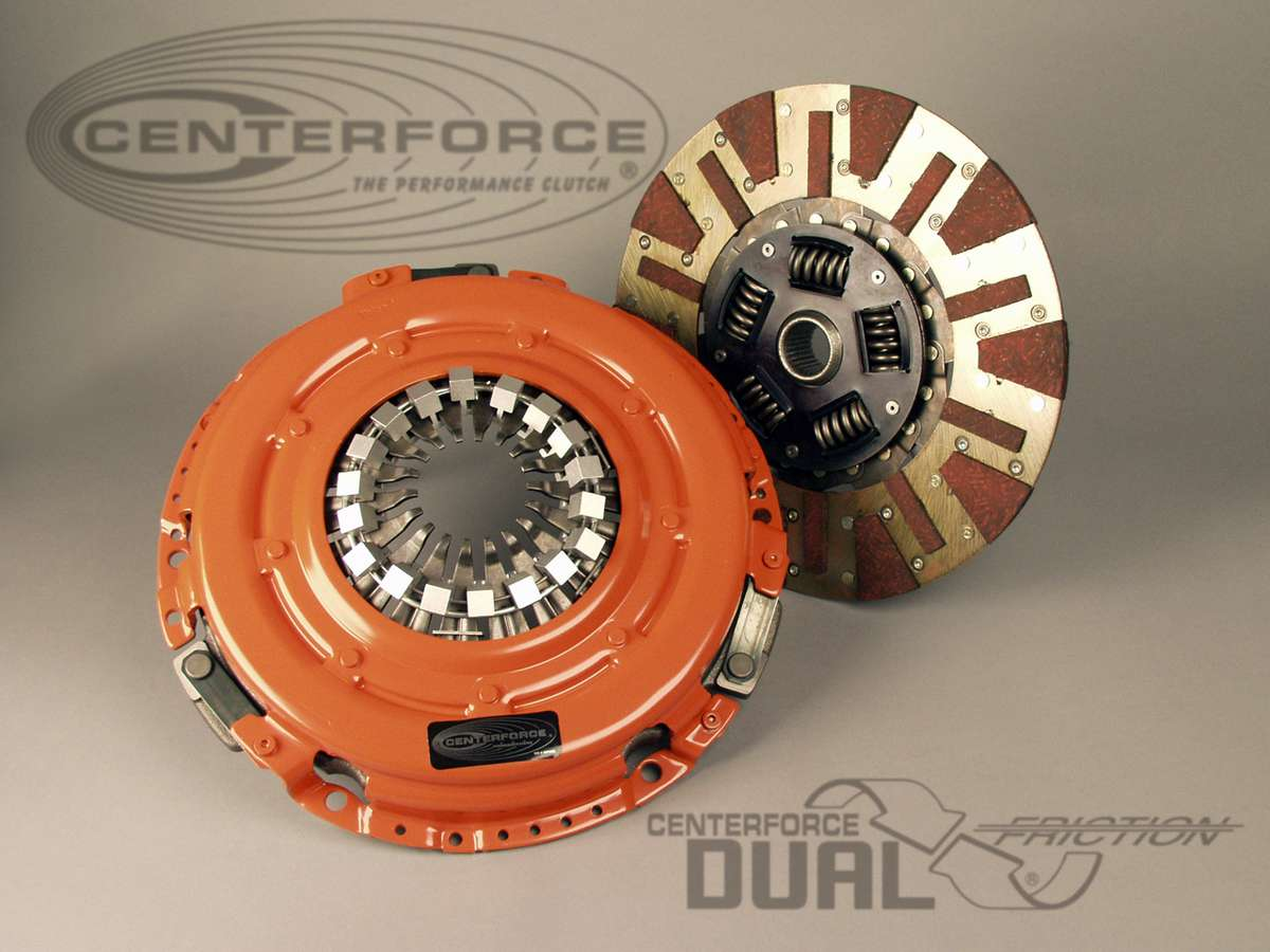 Centerforce DF384024 Dual Friction Clutch Disc