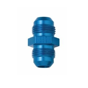 FRAGOLA PERFORMANCE SYSTEMS 481503 -3AN FLARE UNION MALE ALUMINUM BLUE ANODIZED
