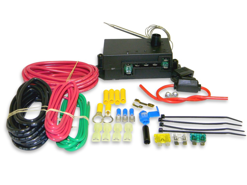 Shop for Electric Fan Wiring and Components :: Racecar Engineering