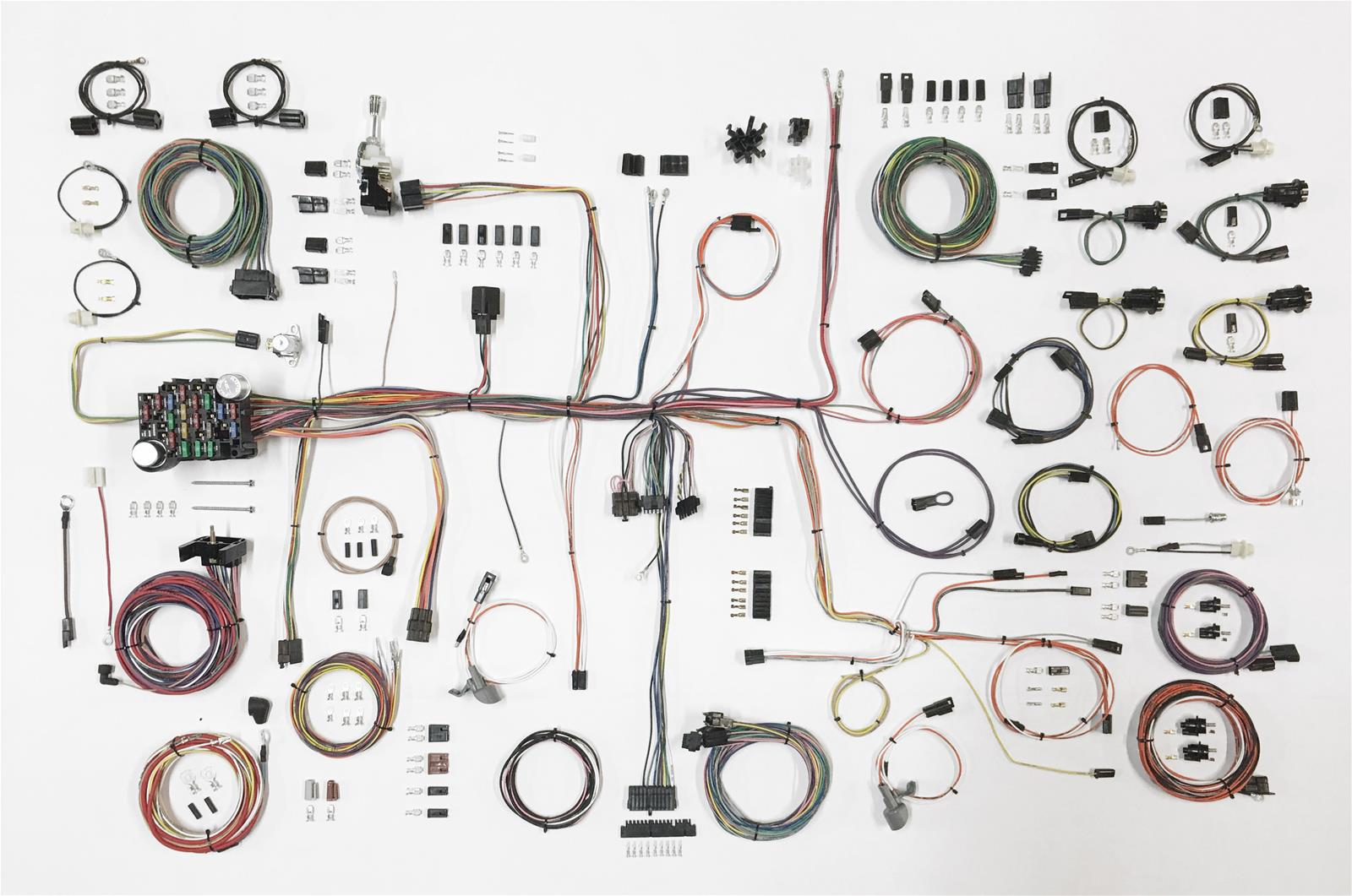Shop for AMERICAN AUTOWIRE Full Wiring Harness - Application ... Aaw Wiring Harness on