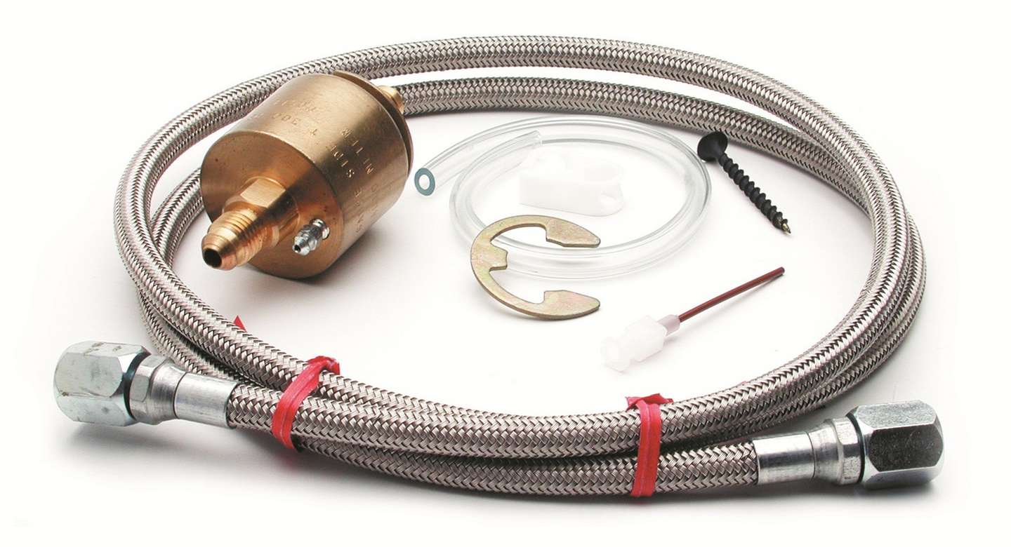 """Auto Meter 5254 EGT Probe Fitting 1//4/""""Compression-1//8/""""NPT Male 1//8/""""Weld-On Bung"""