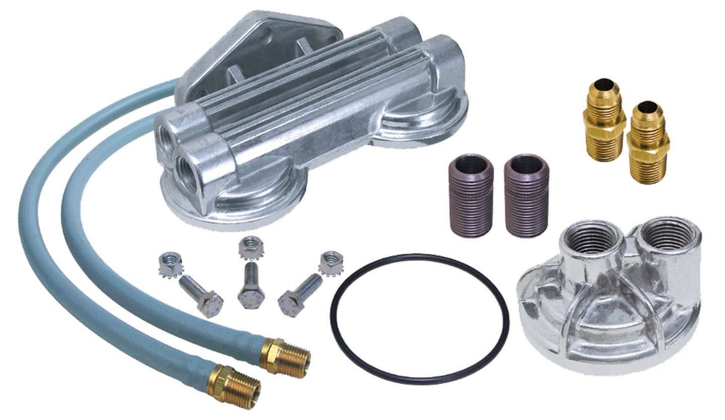 Trans-Dapt Performance Products 1122 Single Oil Filter Relocation Kit