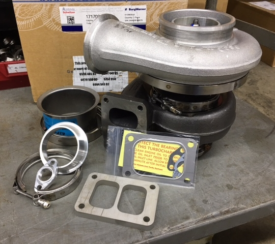 BORG WARNER S400 T4 TURBO MOUNTING KIT