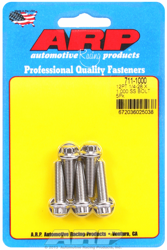 BULK FASTENERS, STAINLESS STEEL SAE, 170,000 PSI TENSILE, 5 PACKS, COME WITH WASHERS