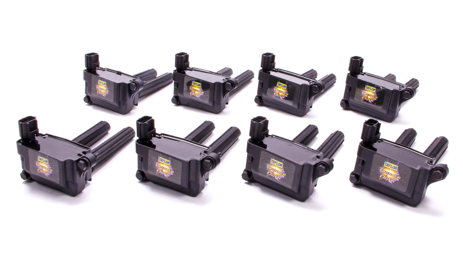 Pack of 8 Taylor Cable 718138 Thunder Volt Coil for Ford 4.6L//5.4L 3-Valve Engine,