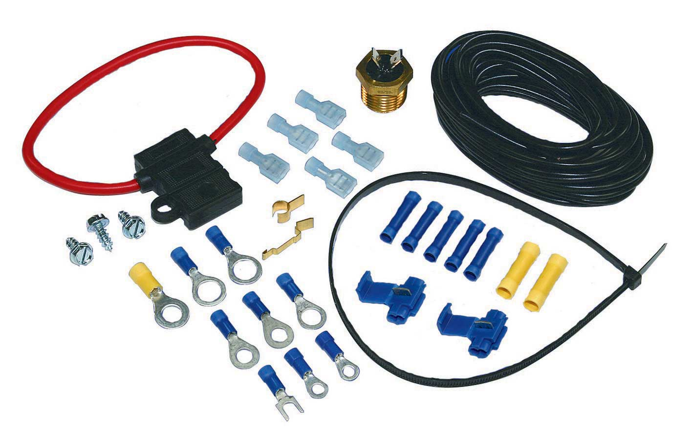 Shop For Electric Fan Wiring And Components Arob Performance Parts Painless 30111 Instructions Kit Screw In