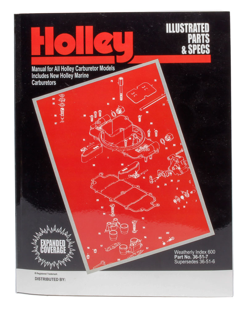 Shop for HOLLEY PERFORMANCE PRODUCTS :: Racecar Engineering