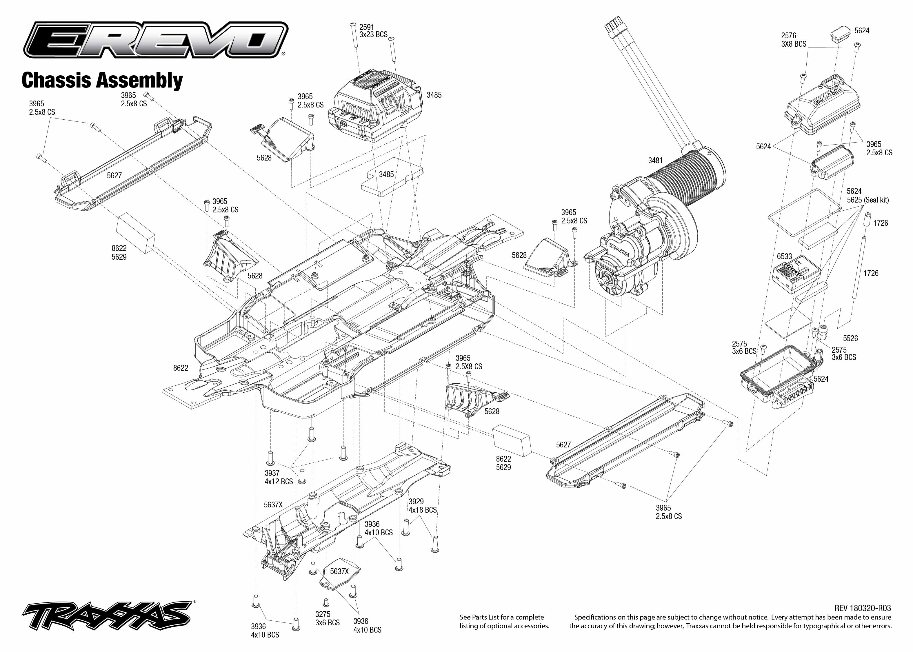 Chassis Assembly Exploded View