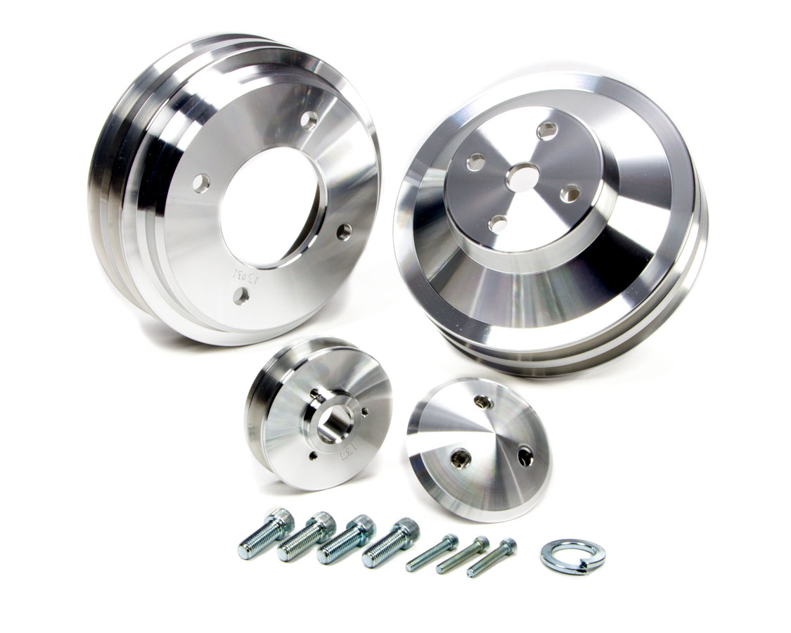 Shop For March Belts And Pulleys Etheridge Race Parts Serpentine Pontiac 70 78 Bb 3pcs Pulley Set
