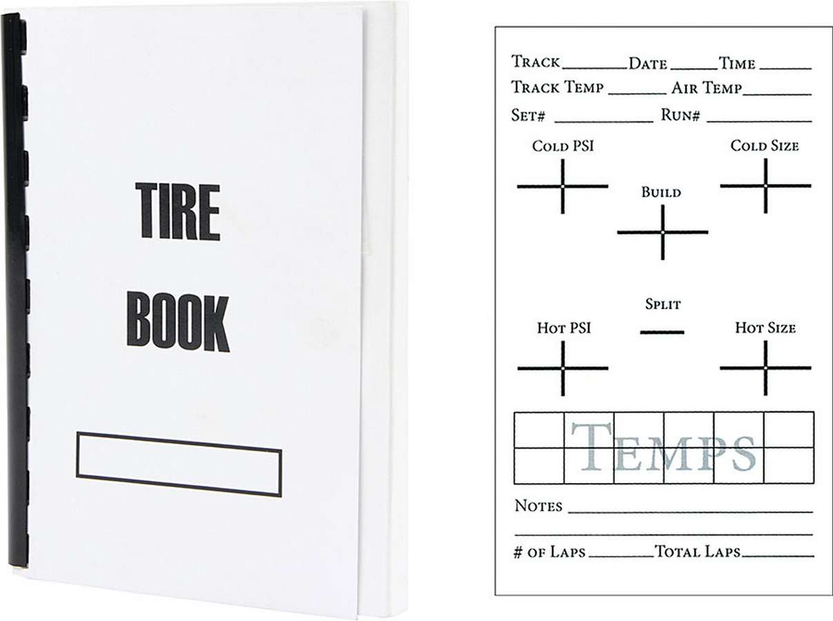 Shop for Note Pads and Set Up Sheets :: Racecar Engineering