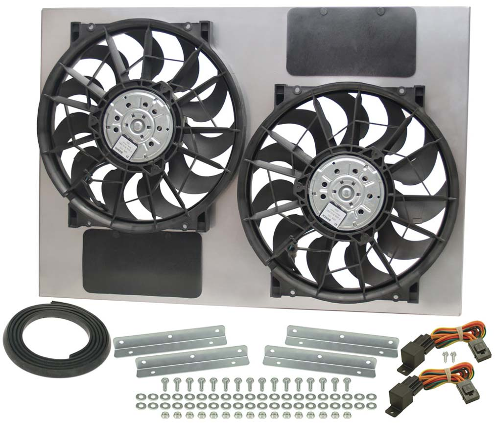 Shop For Derale Arob Performance Parts Jeep Tj Threadin Thermostat Fan Control With Dual Threads 13in High Output Rad Fans Puller