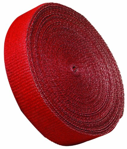 315041 RED EXHAUST WRAP 2 INCH X 25 FEET