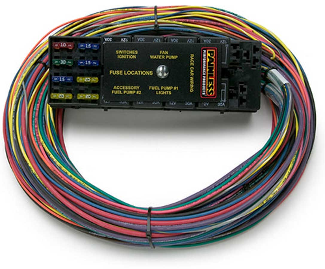 Race Car Wiring Harness Painless 50003 Universal Diagram Shop For Performance Products Full Harnessrace 13