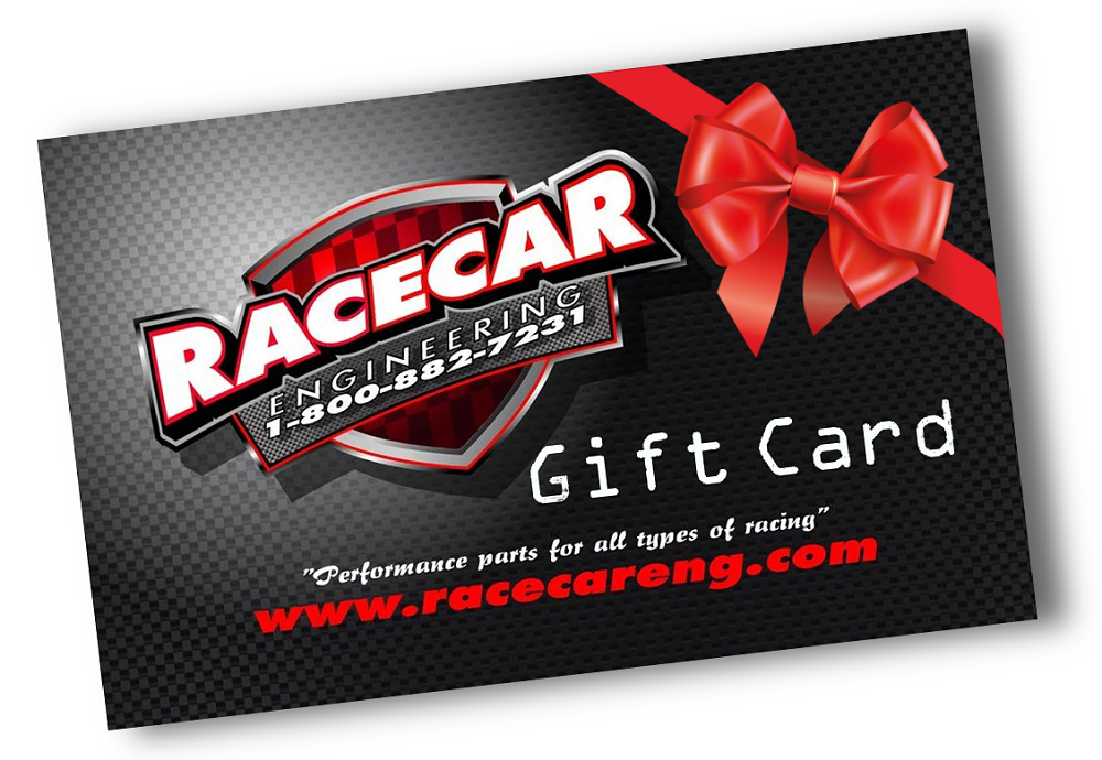 RACECAR ENGINEERING $25 GIFT CARD - NO EXPIRATION DATE / NO HIDDEN FEES