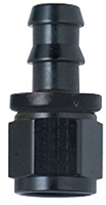 FRAGOLA PERFORMANCE SYSTEM PUSH LOCK HOSE END PUSH-LITE 200110-BL