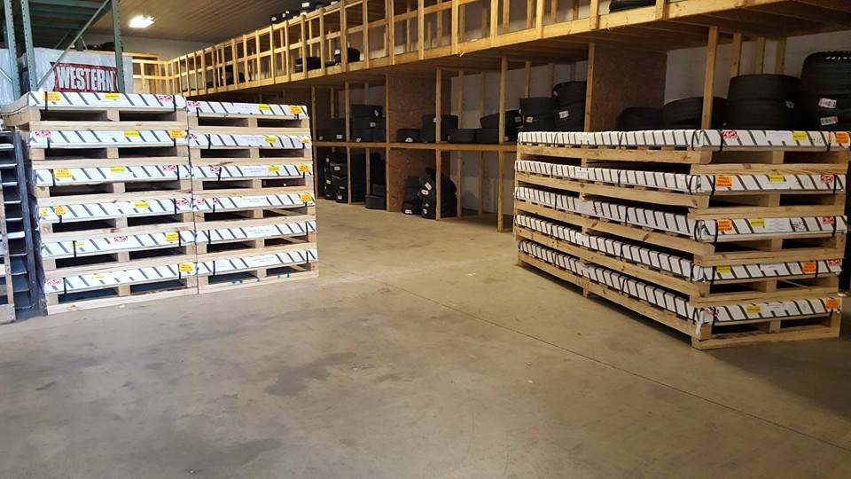 The Warehouse is stocked